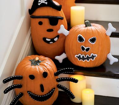 Ideas para decorar calabazas de halloween jardiner a marve - Calabazas decoradas para halloween ...